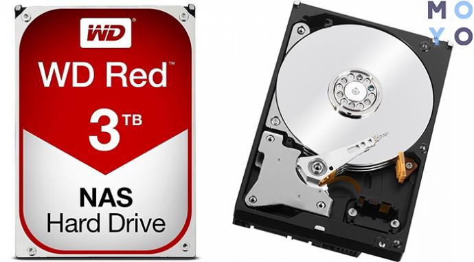 быстрый WD 3.5 SATA 3.0 3TB IntelliPower Red (WD30EFRX)