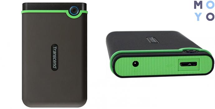 """TRANSCEND 2.5"""" StoreJet USB 3.0 500GB Iron Gray Slim (TS500GSJ25M3S)"""