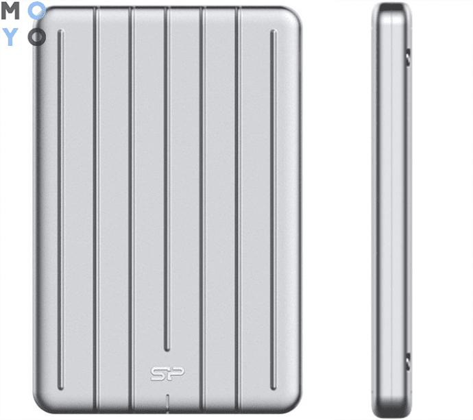 "SILICON POWER 2.5"" USB 3.1 Armor A75 1TB Silver (SP010TBPHDA75S3S) с доступом в облако"
