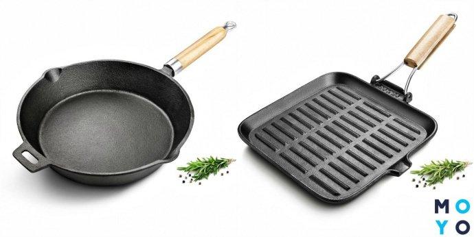 Сковороды из чугуна