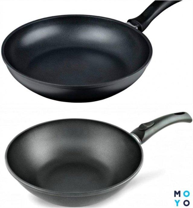 Сковородки с титановым покрытием