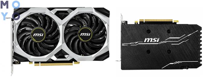 хорошая видеокарта MSI GeForce GTX 1660 Ti 6GB GDDR6 VENTUS