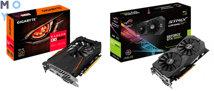 недорогие решения АMD и Nvidia