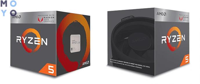 AMD Ryzen 5 2400G (4 ядра, 8 потоков)