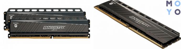 комплект ОЗУ Micron Crucial Ballistix Tactical DDR4 3000 8GB (4GB*2)