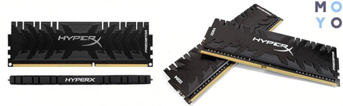 оперативная память с радиатором Kingston HyperX Predator DDR4 3200 16GB