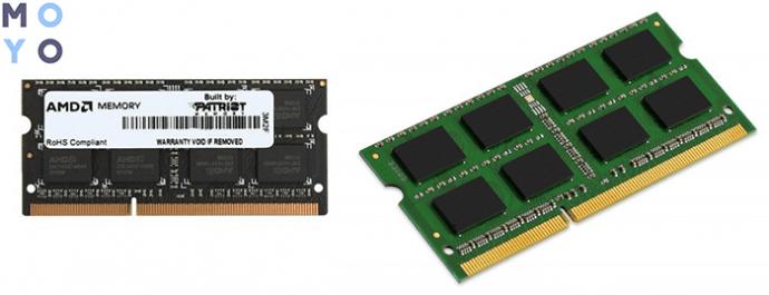 память для ноутбука AMD DDR3 1600 4Gb SO-DIMM