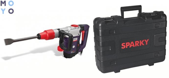 электрический отбойный молоток Sparky К 615CE HD с кейсом в комплекте