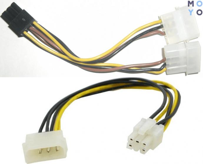 кабель питания для дискретной видеокарты