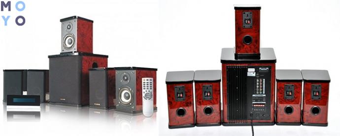 сверхмощная акустическая система 5.1 MICROLAB H-500 II