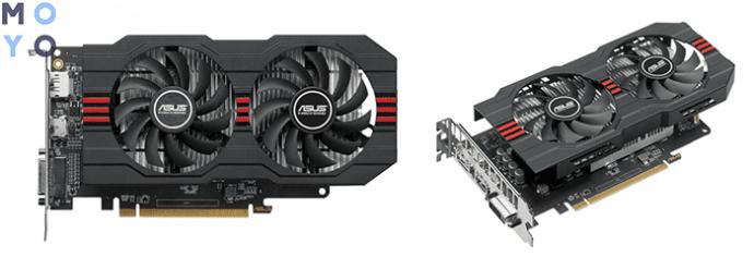 ASUS Radeon RX 560 2GB DDR5 AREZ EVO подключается в слот PCI-E x16 3.0