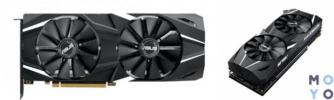 ASUS GeForce RTX2080 8GB GDDR6 DUAL OC с поддержкой SLI