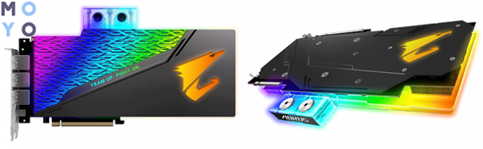 GIGABYTE GeForce RTX 2080 8GB GDDR6 XTREME Waterforce WB Aorus с водяным охлаждением