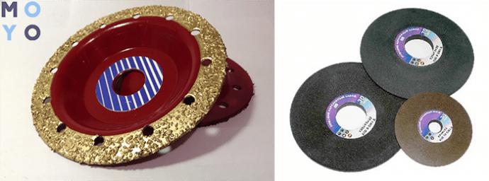 фрезеровочный и заточный диски для болгарки