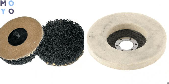 шлифовальные и полировальные круги для УШМ