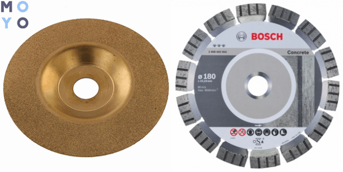 алмазные диски для УШМ