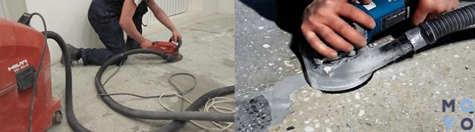 Чем шлифуется бетон бетонная смесь и раствор отличия