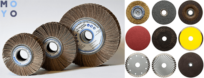 диски на болгарку для обработки дерева