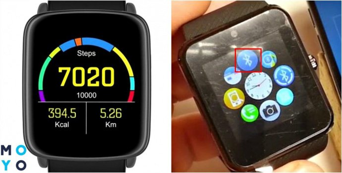 Подключение по Bluetooth к умным часам