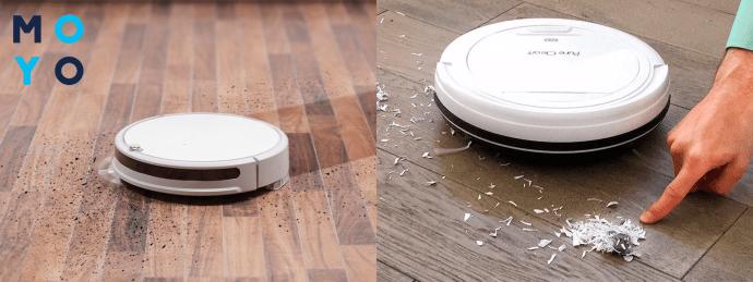 Принцип работы робота-пылесоса