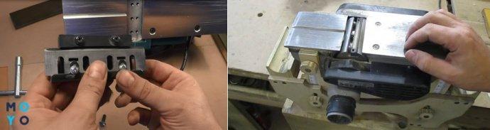 Проверка установки ножей