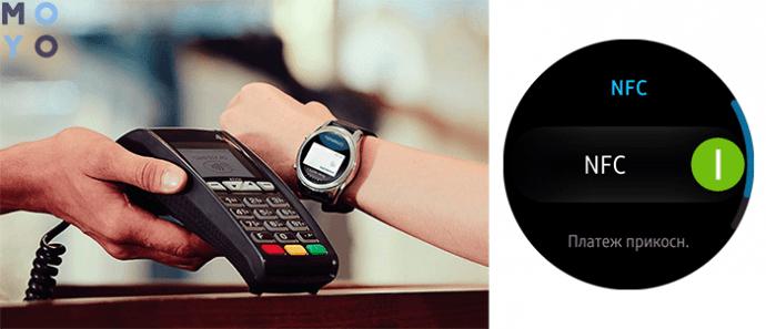 MST и NFC в Samsung Gear
