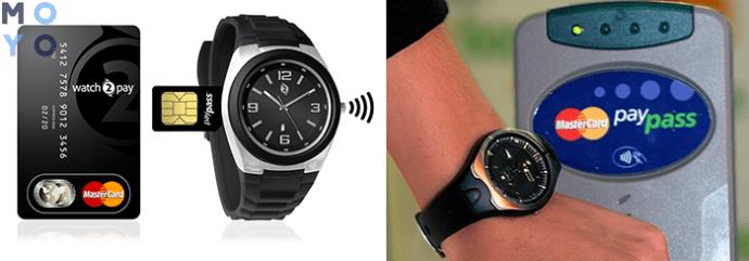 часы с чипом PayPass