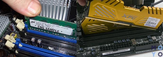 Установка оперативной памяти в ПК