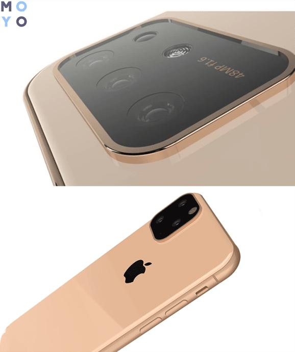 Тройная камера нового iPhone 2019
