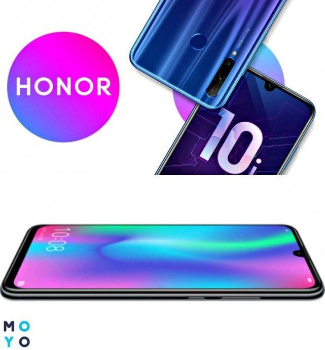 Сравнение смартфонов Honor 10i и Honor 10 Lite
