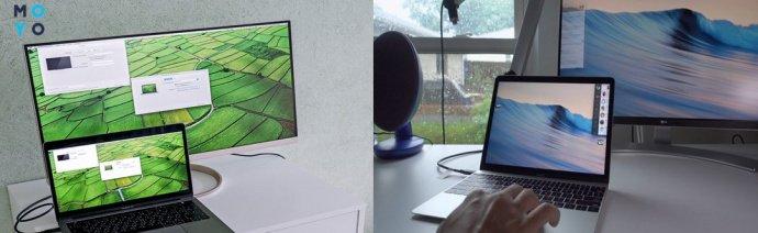 Подключение MacBook к монитору