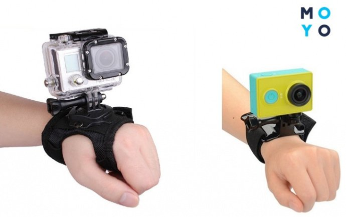 Крепление экшн камеры на руку