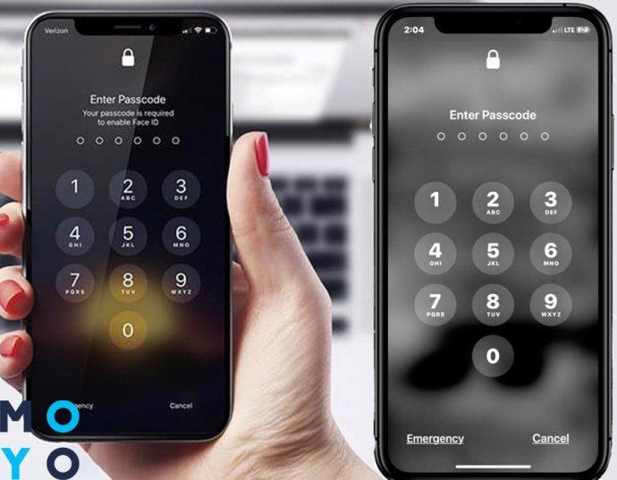забытый пароль на iPhone , восстановление пароля через макбук