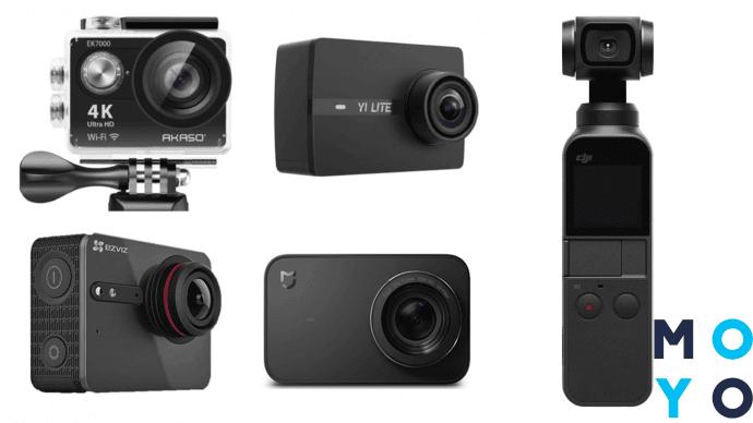 правила настройки экшн-камеры
