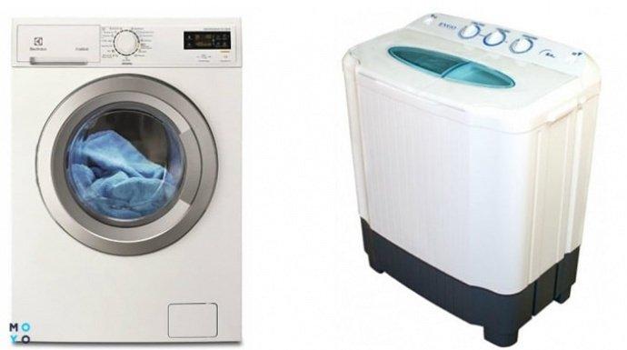 Автоматическая и полуавтоматическая стиральная машина