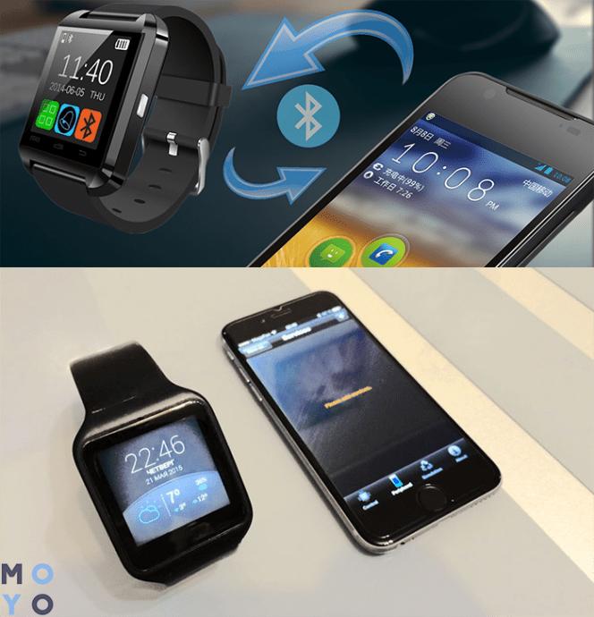 синхронизация умных часов со смартфоном