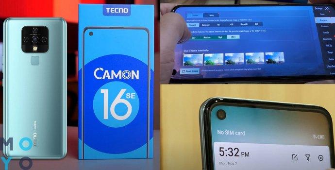 TECNO Camon 16 SE