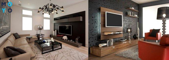 Телевизор в гостинной
