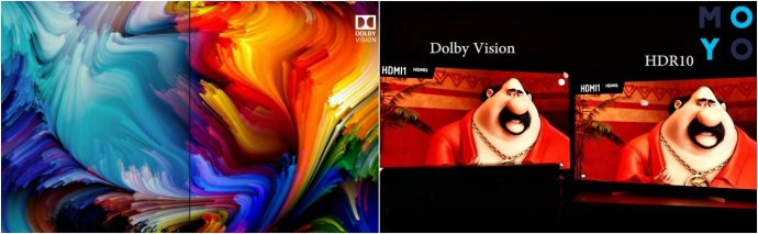 HDR10 и Dolby Vision в телевизорах