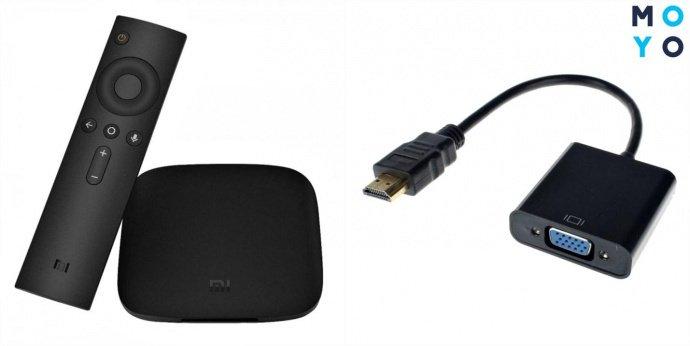 Приставка Smart TV и переходник