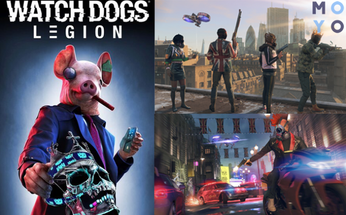 игра watch dogs легион