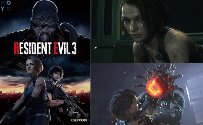 геймплей Resident Evil 3 Remake