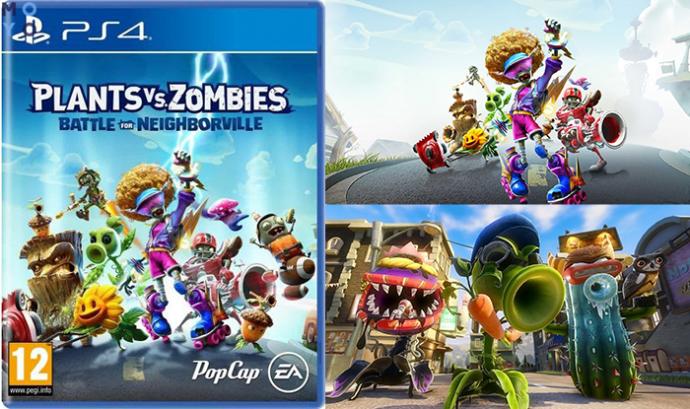 геймплей Plants Vs Zombies: Битва за Нейборвилль