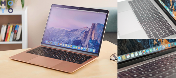 Клавиатура и дизайн MacBook Air 2020 и Pro