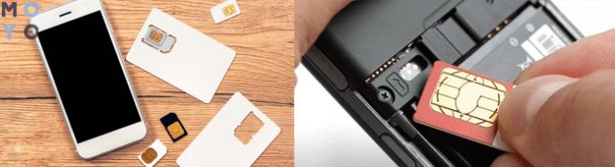 Телефон и разные СИМ-карты