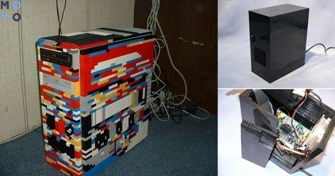 Системный блок из лего