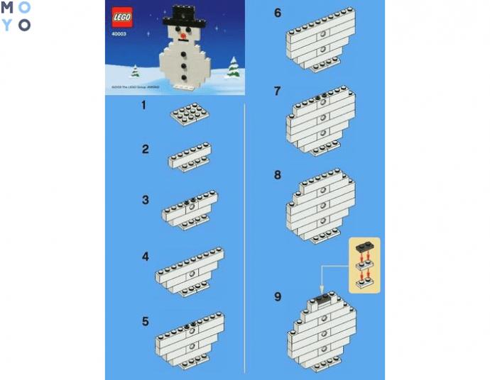 Изготовление снеговика на елку