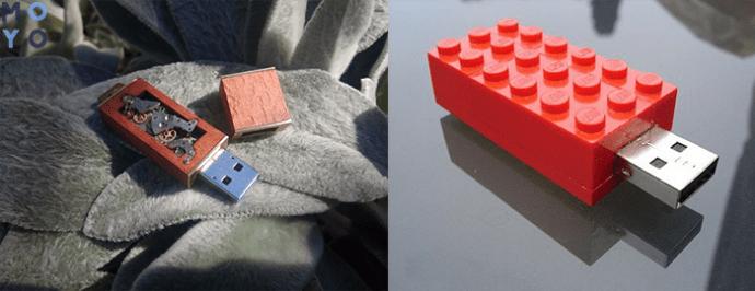 Изготовление USB накопителя из конструктора