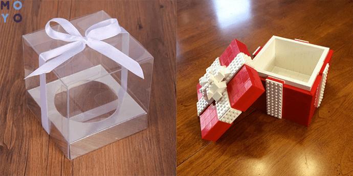 Подарочная коробка из конструктора