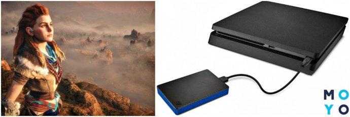 Внешний жесткий диск для PS4